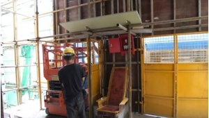 small scissor lift for indoor use2