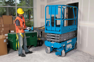 small scissor lift for indoor use3