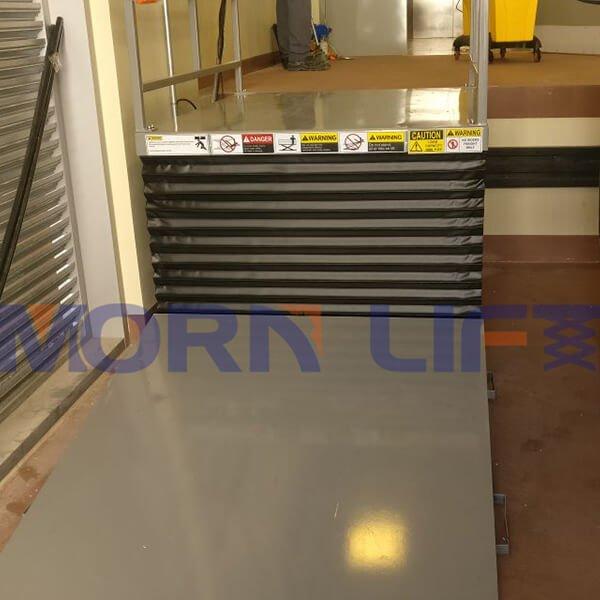 Customized hydraulic lift table in dubai