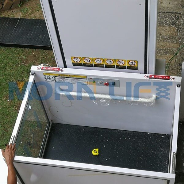 Vertical platform lift in Home elevator in wheelchair lift in Philippines