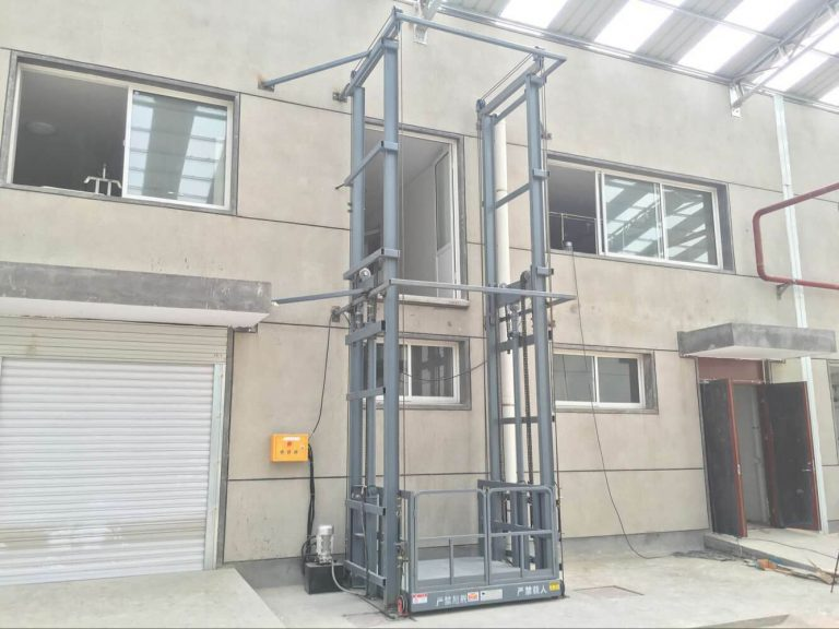 The wide application of cargo elevators brings convenience to production