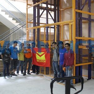 cargo lift installation in Philippines