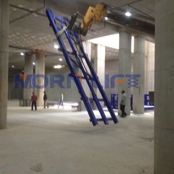 cargo lift installation in kuwait