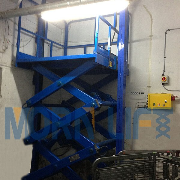fixed scissor lift in dubai