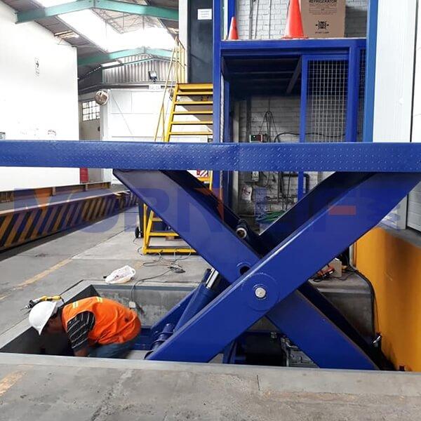 fixed scissor lift in peru