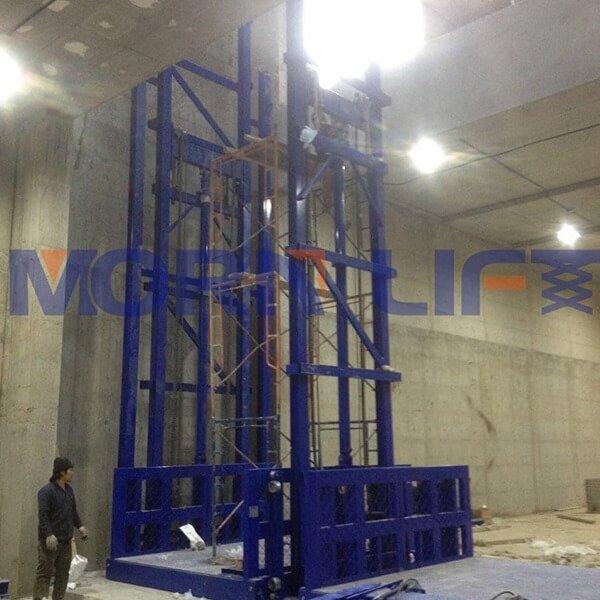 freight elevator intallation in kuwait