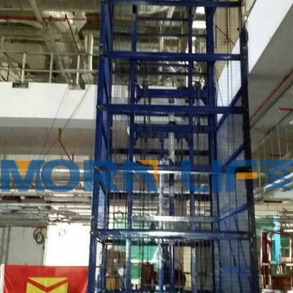 What to pay attention to when using warehouse lift platform