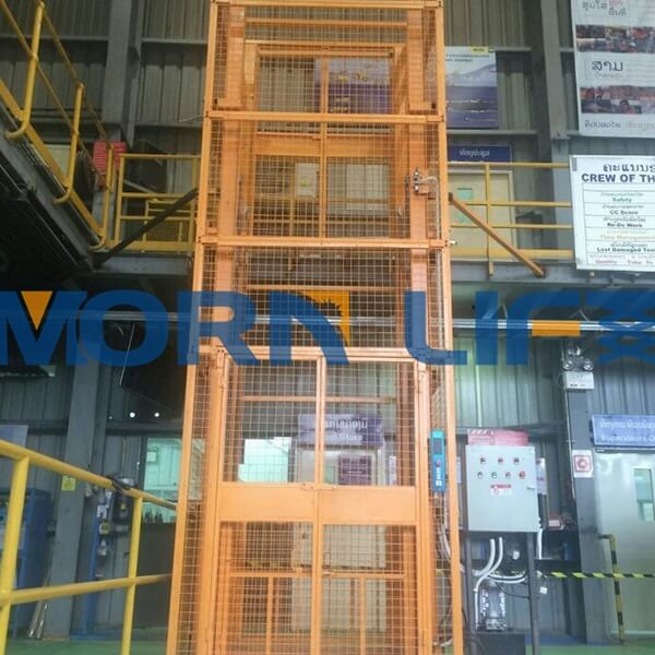 goods lift for laos