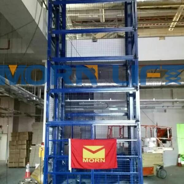 goods lift with full mesh in singapore