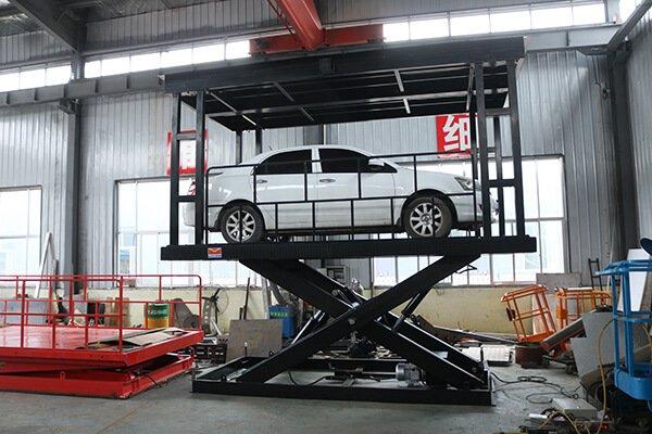 hydraulic cargo elevators