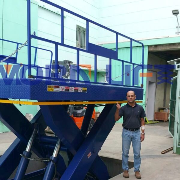 hydraulic lift table in Madagascar