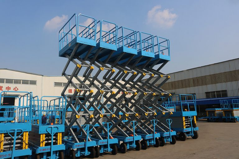 What is China mobile scissor lift platform?