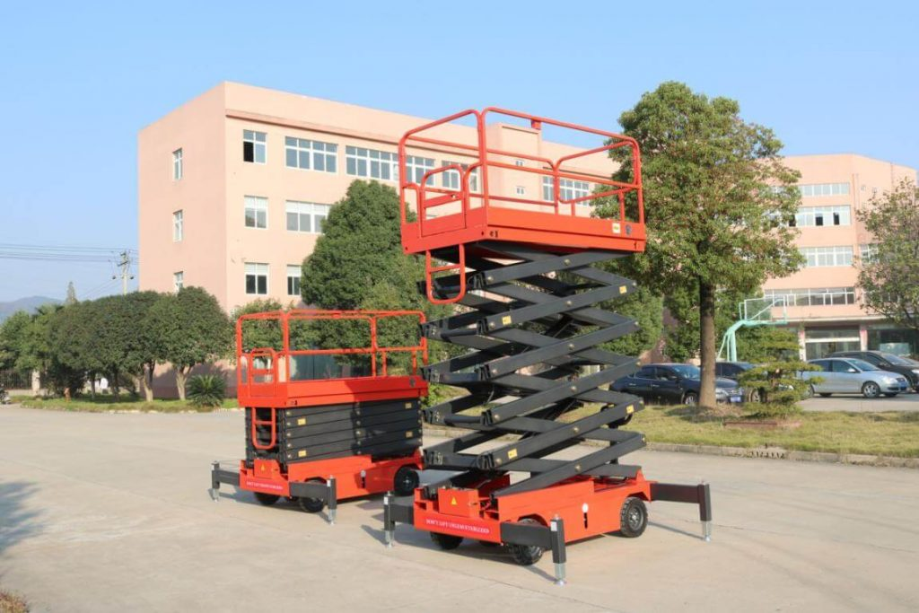 mobile scissor lift