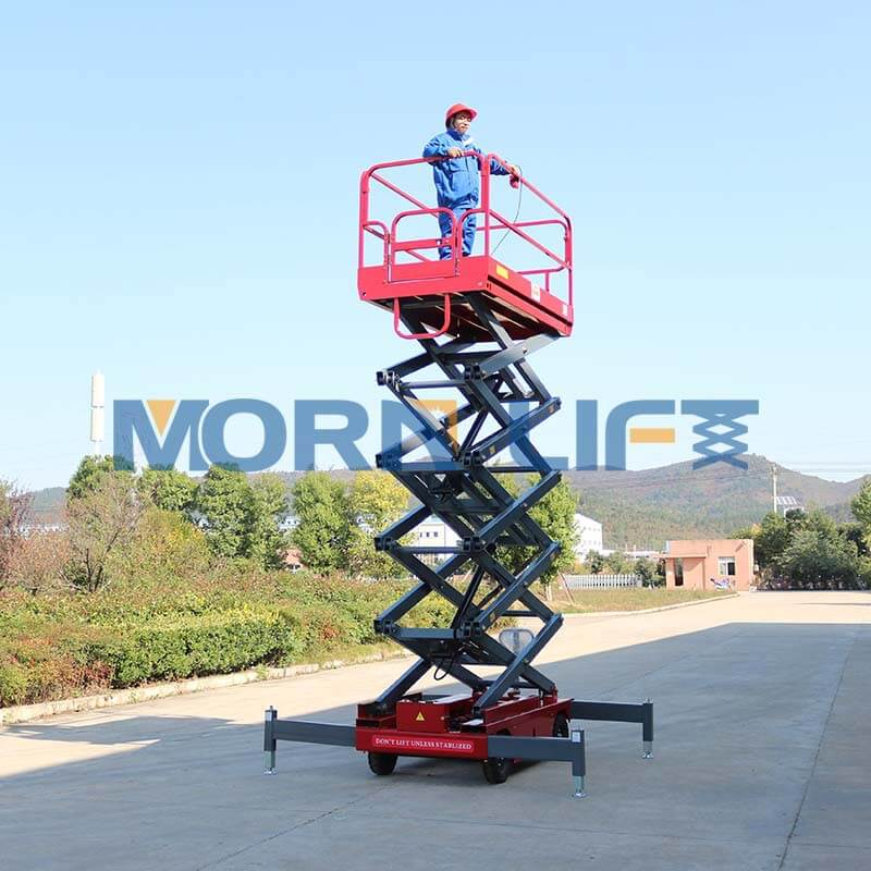 mobile scissor lift appliation