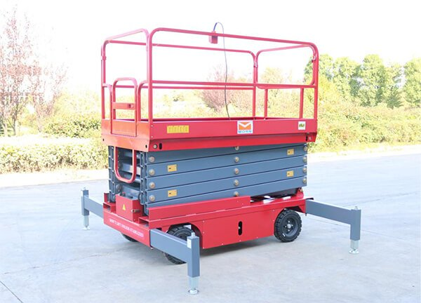 Mobile Scissor Lift with good features