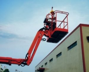 JIB with large range of activities