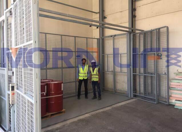 cargo lift feedback