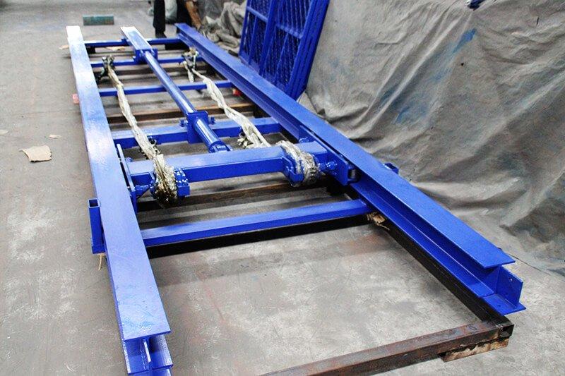 cargo lift installation