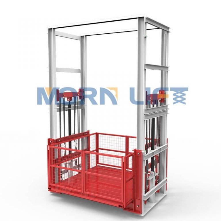 Explanation on the basic operating specifications of the hydraulic cargo elevator lift