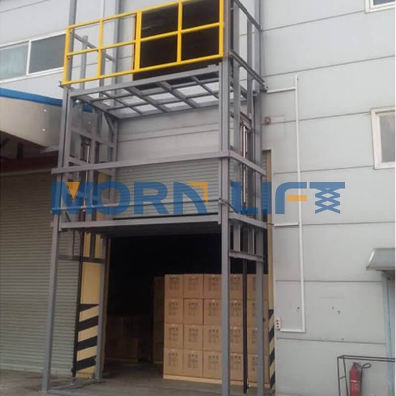 Maintenance and circuit of industrial elevators and lifts motor