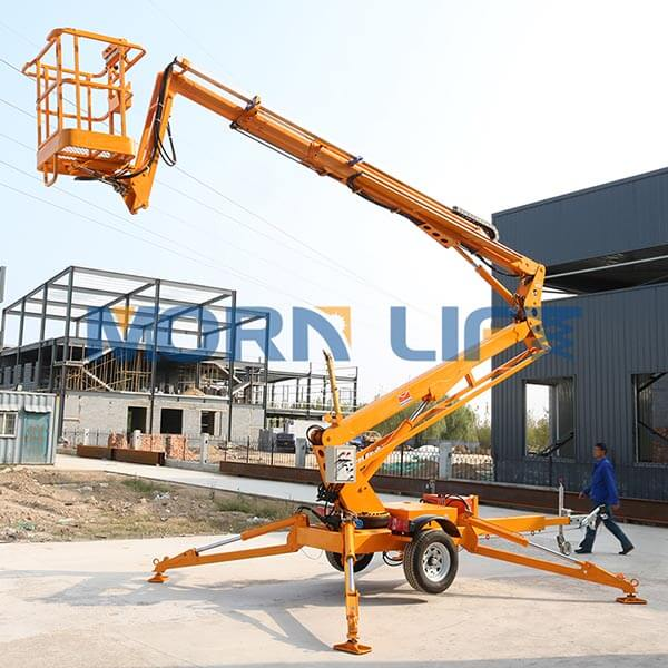 What is articulated aerial working platforms?