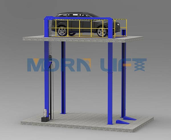 Instruction of car hydraulic lift