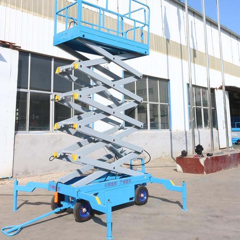 mobile scissor lift application