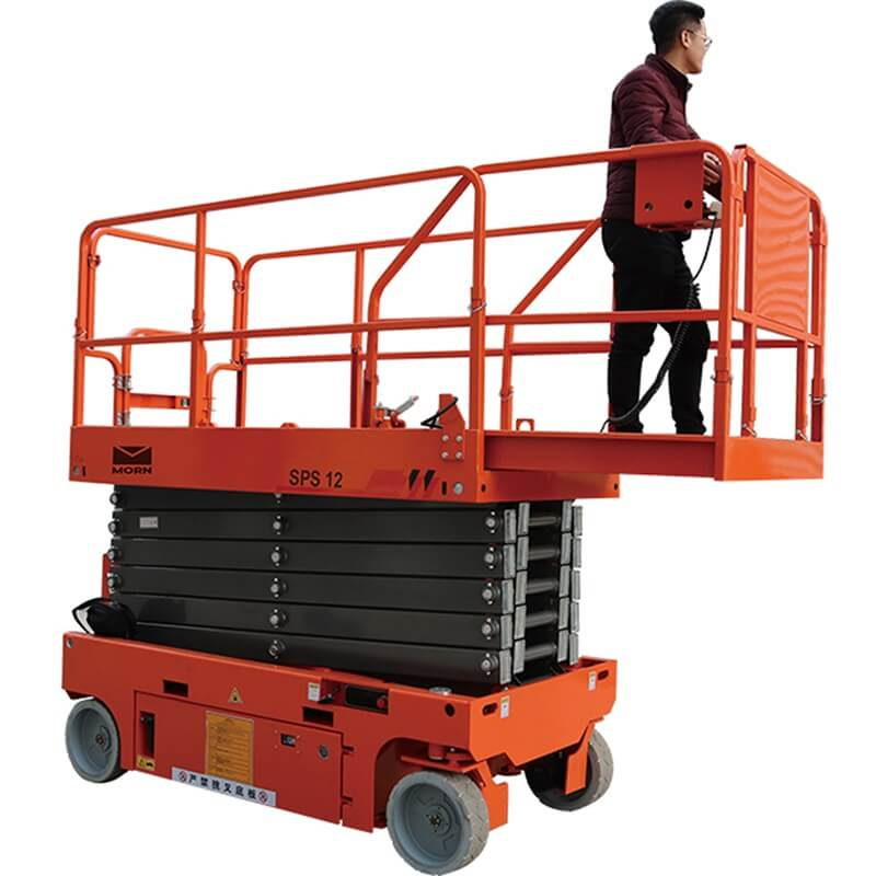 What are the advantages of mobile scissor lift ?