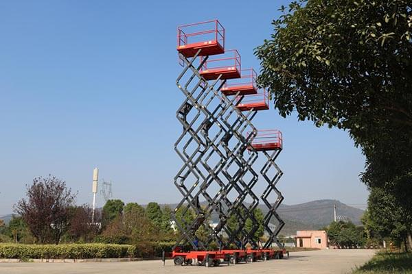 mobile scissor lift for sale