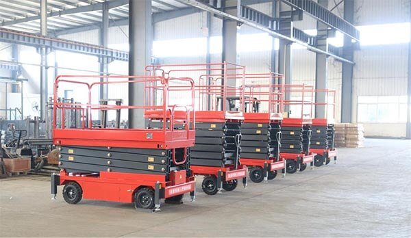 mobile scissor lift manufactor