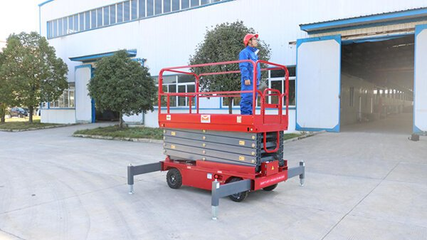 How to operate Hydraulic Mobile scissor lift