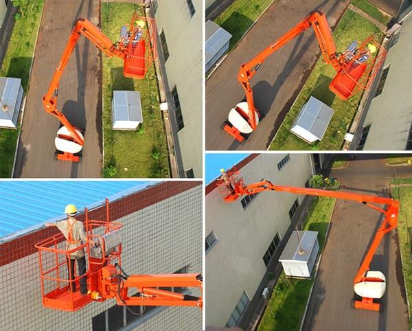 MORN Self-propelled TELESCOPIC BOOM LIFT DEATAILED INTRODUCTION