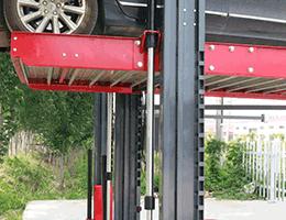 2 post parking lift detail
