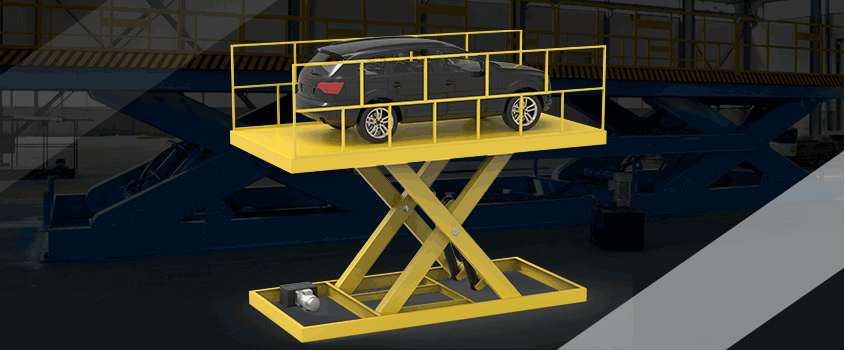 scissor car lift safety feature