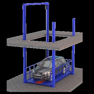 4 Post Car Lift 2