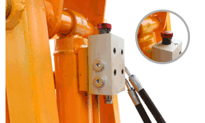 boomlift dual function oil cylinder