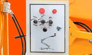 boomlift rainproof electric box