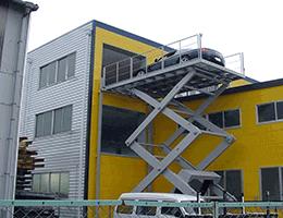 scissor car lift project