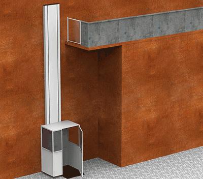 Vertical Platform Lift with Cabin