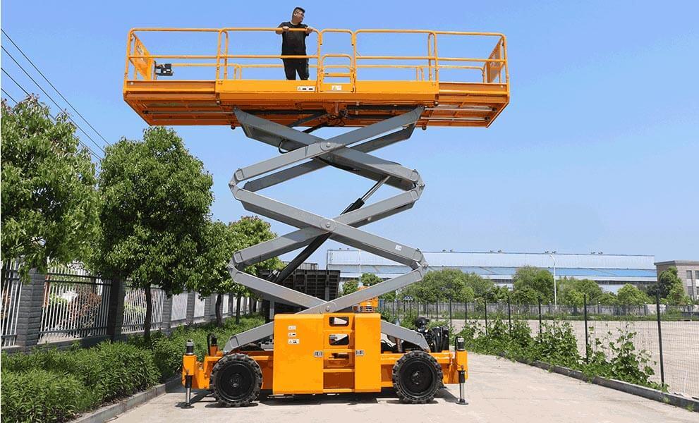 diesel scissor lift
