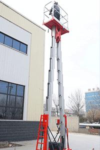 man lift mast lift