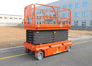 SMALL SCISSOR LIFT 16
