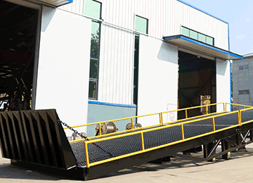 sectional loading ramp
