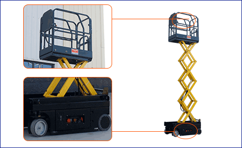 SMALL SCISSOR LIFT 6
