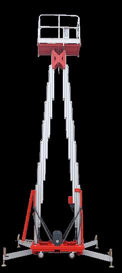 double mast lift
