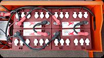 electric scissor lift Battery group
