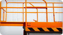 electric sicssor lift Extendable Platform