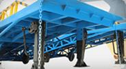 mobile loading ramp HEAVY DUTY LEGS