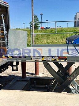 scissor dock lift