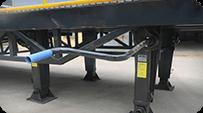 sectional loading ramp ADJUSTING BAR